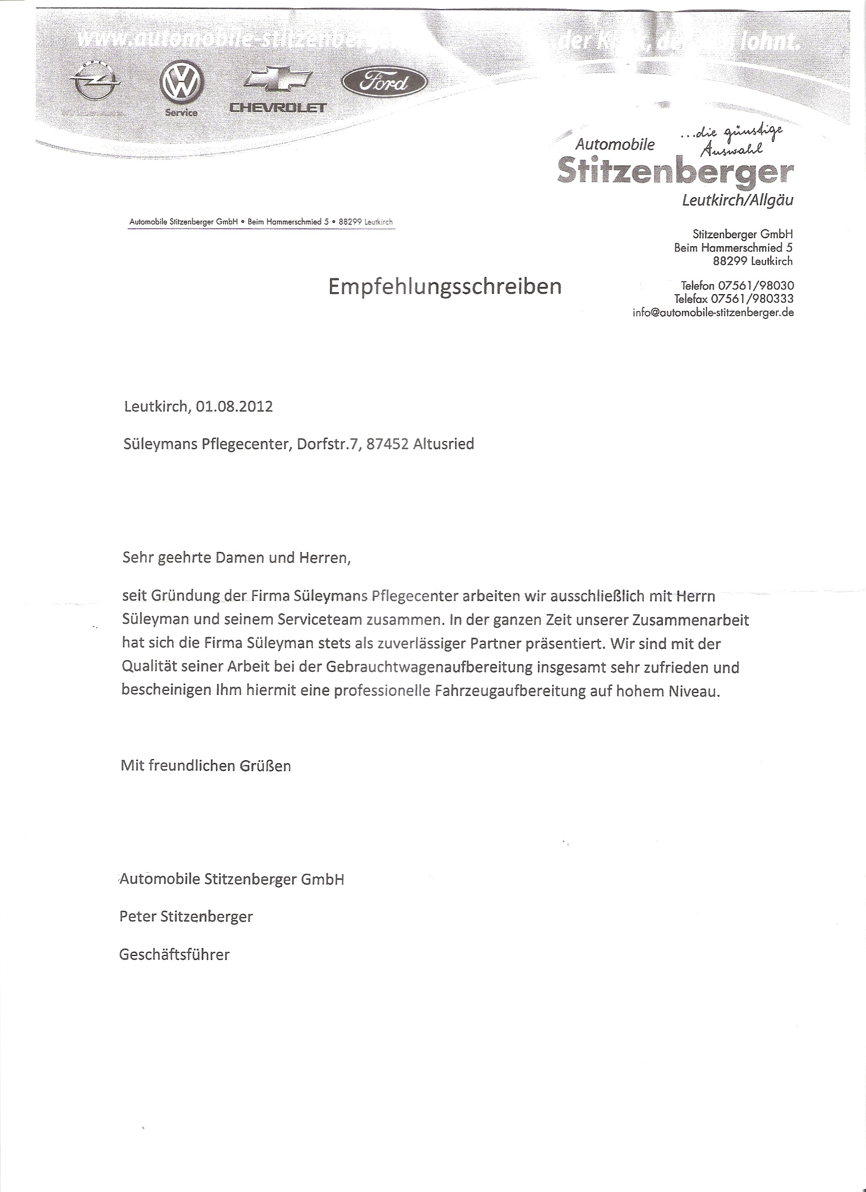Empfehlungsschreiben-Stitzenberger